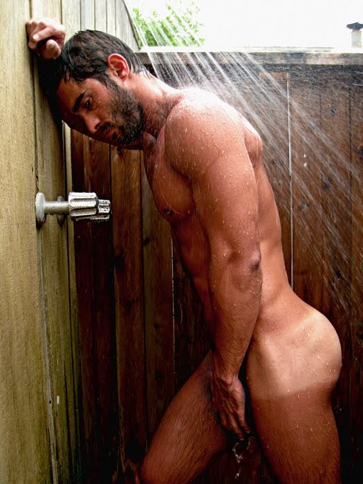A naked man on the shower, bumper pussy nudes bbw